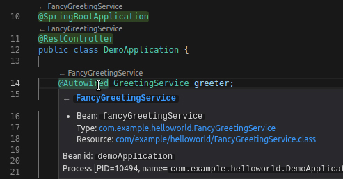 VSCode with Spring Tools Extension