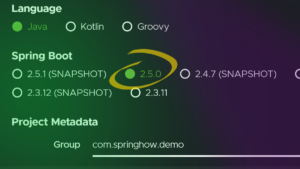 As of May 21st of 2021, the latest version of Spring Boot is 2.5.0