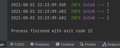 Demonstrating custom error code in spring boot