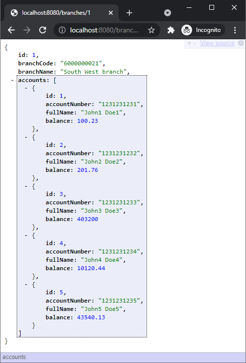 one to many example using spring jpa